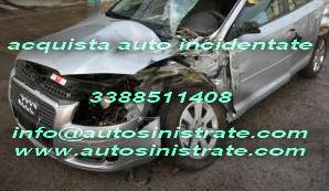 Compro auto incidentate