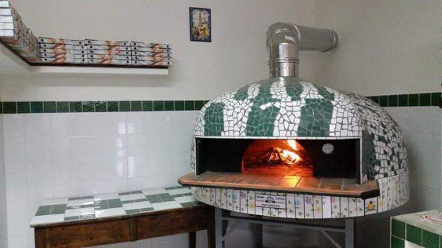 Forno 8 pizze usato