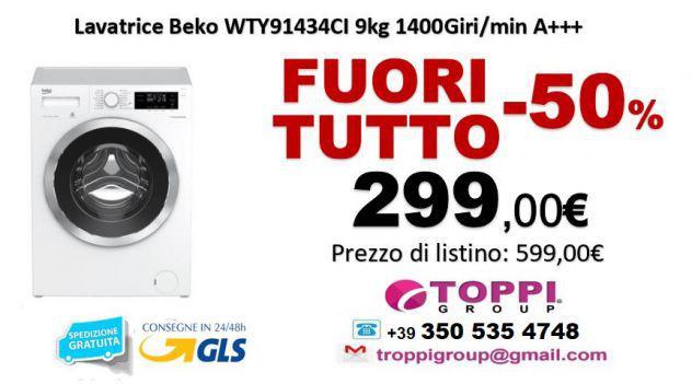Lavatrice BEKO WTY91434CI 9Kg 1400Giri/min A+++