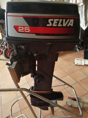Motore selva 25 cv 2t lungo avv. el.
