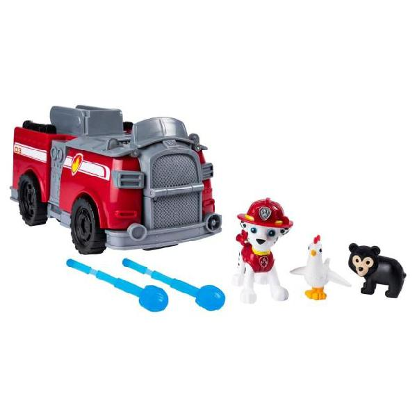 Paw patrol automobile giocattolo marshall ride n rescue