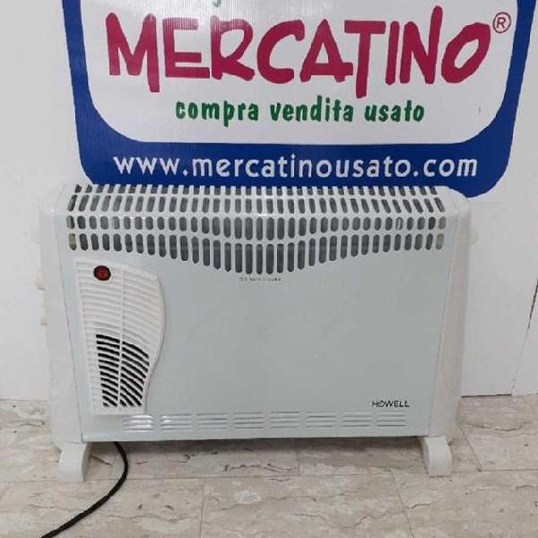 Termoconvettore stufa elettrica howell 2000 watt