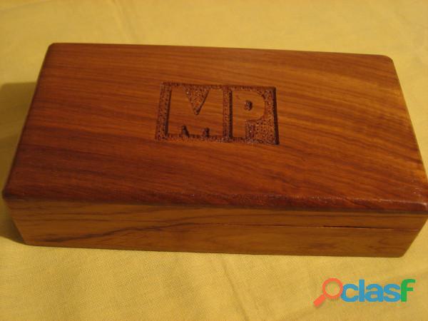 Scatola multiuso in legno esotico