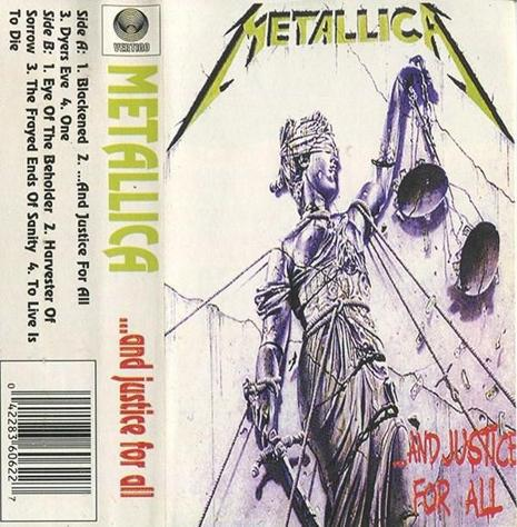 Metallica -...and justice for all
