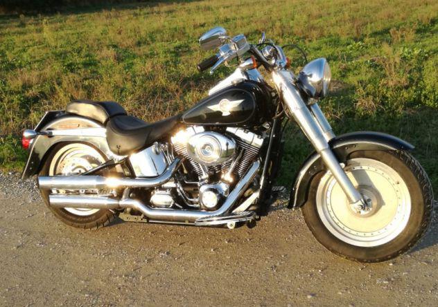 Harley davidson softail fat-boy 1450 15°anniversario
