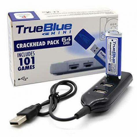 Ps1 ps mini crackhead pack pendrive usb con 64gb include 101