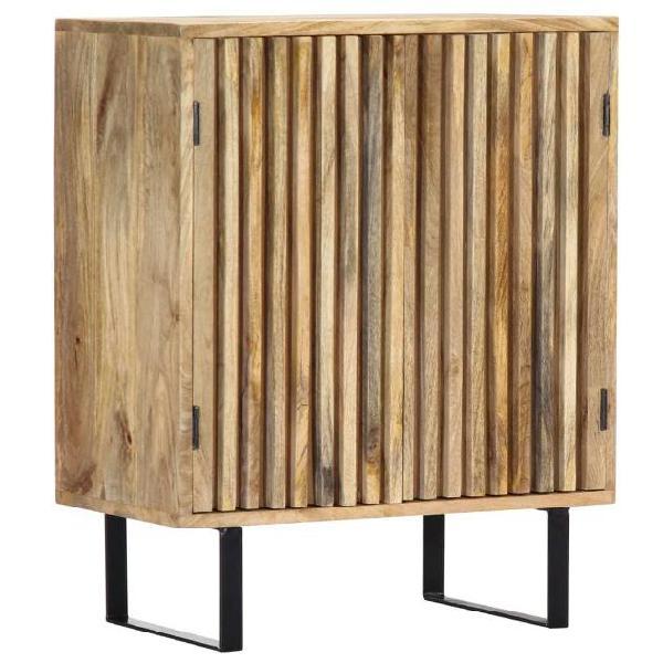 Vidaxl credenza 60x35x75 cm in legno massello di mango