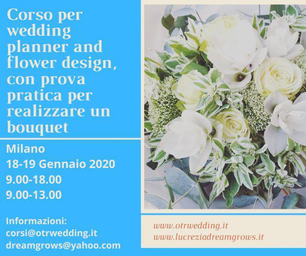 Corso and workshop for weddin planner and floral designer
