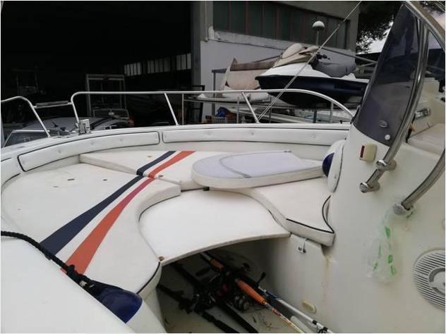 Barca a motoreselva marine open 6.6c anno2008 lunghezza mt6