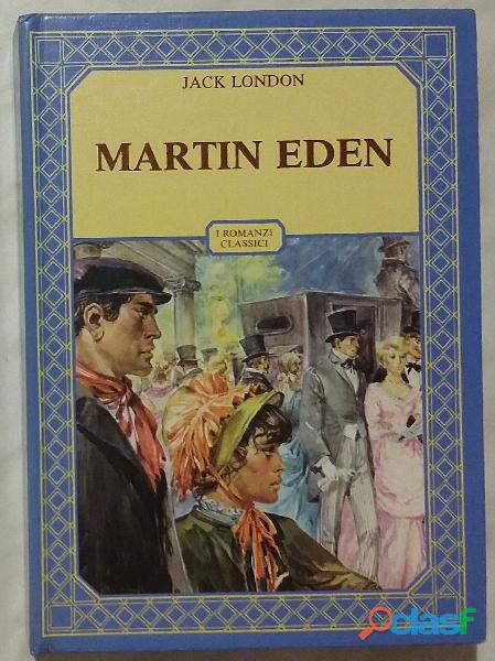 Martin eden. edizione integrale di jack london; ed.accademia, 1985 come nuovo