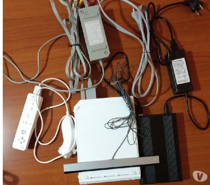 Console nintendo wii usb loader con 125 giochi e accessori