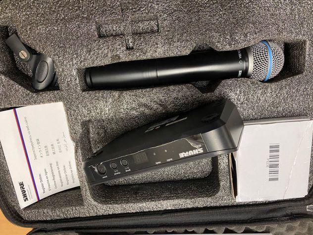 Microfono shure glx-d wireless beta 58a