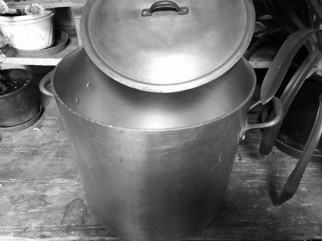Pentolone in alluminio lt.40