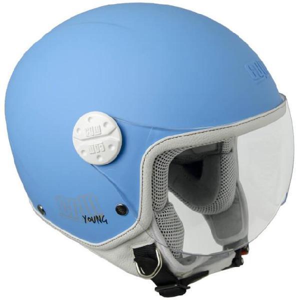 BANDIT casco Jet JET 2 CASCO MOTO CON ECE NERO-OPACO dimensioni TG S 55//56