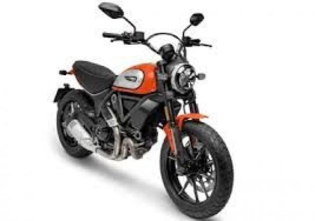 Ducati scrambler icon red 800 km 2500