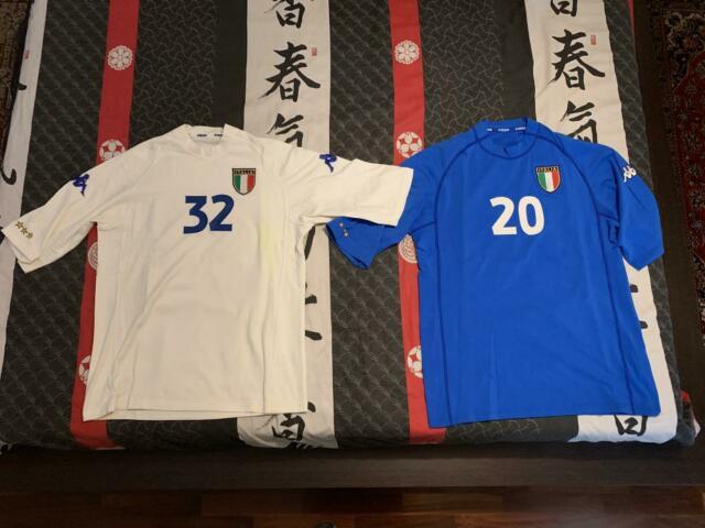 Maglie calcio originali kappa e nike 2000-2003