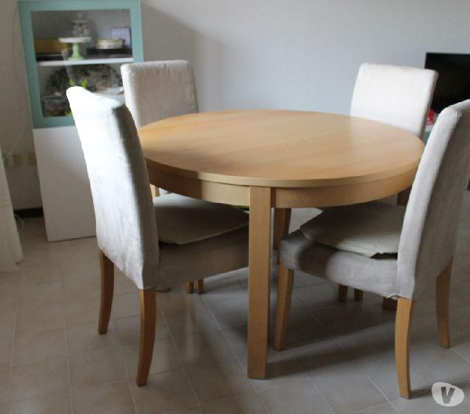 Tavoli Allungabili Da Cucina Ikea.Tavolo Allungabile Ikea Sedie Offertes Maggio Clasf