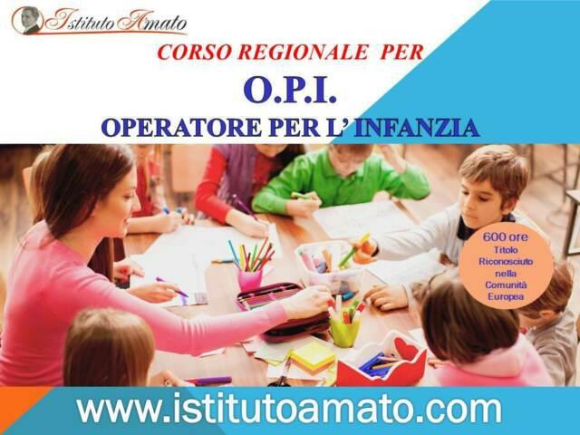 Corso operatore dell'infanzia (opi)