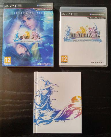 Final fantasy x / x-2 hd limited edition ps3 pal ita