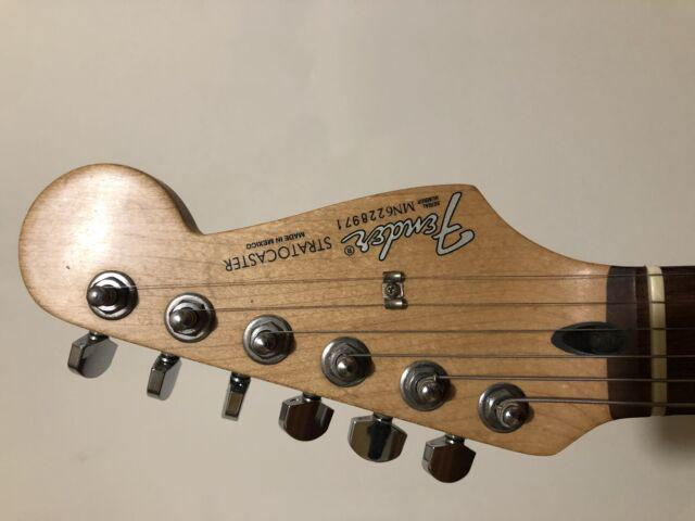 Fender stratocaster sunburst mexico usata