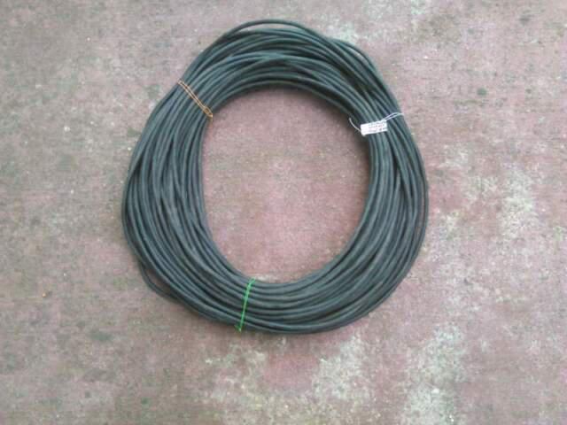Filo elettrico gommato unipolare nero 10mmq