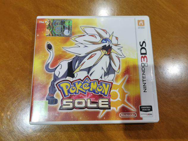 Nintendo 3ds pokemon sole