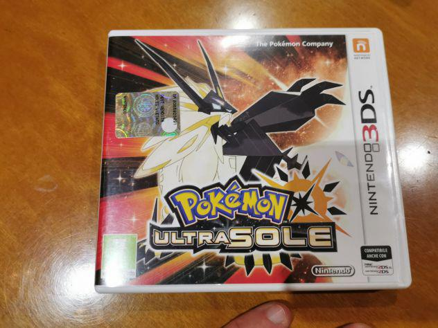 Nintendo 3ds pokemon ultrasole