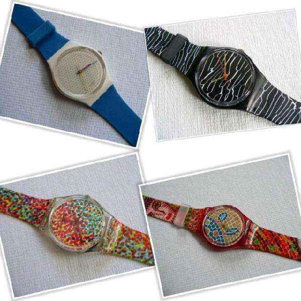 Orologi swatch nuovissimi mai usati collezione anni 90