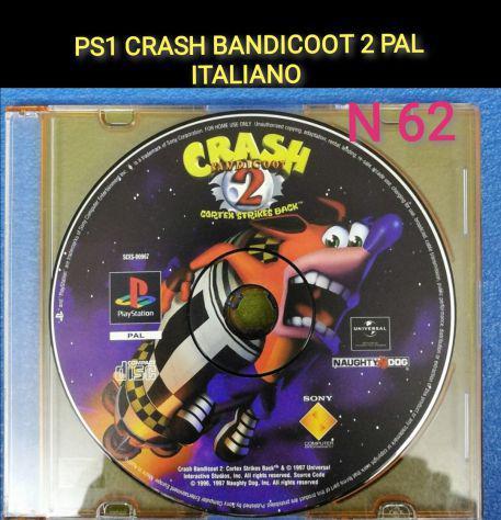 Ps1 crash bandicoot 2 cortex strikes back pal ita