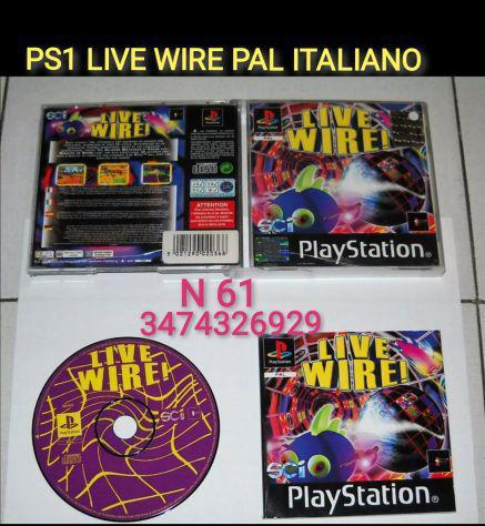 Ps1 live wire pal ita
