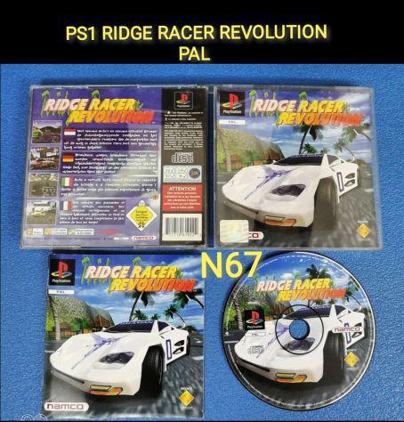 Ps1 ridge racer revolution pal