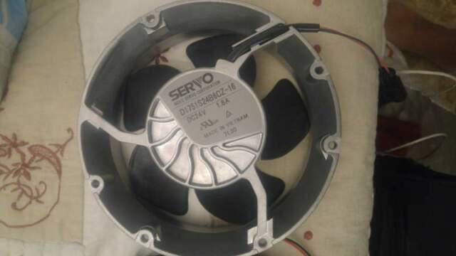 Ventilatore servo d1751s24b6 24v