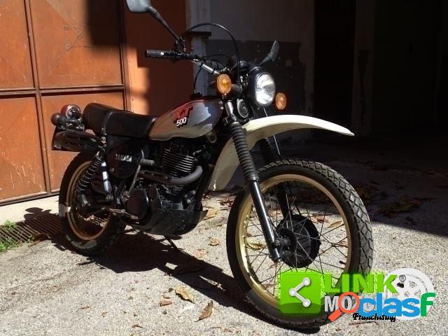 Yamaha xt 500 benzina in vendita a aiello del sabato (avellino)