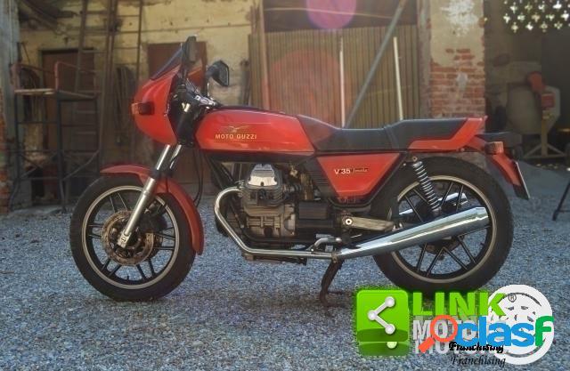Moto guzzi v 35 benzina in vendita a castiraga vidardo (lodi)