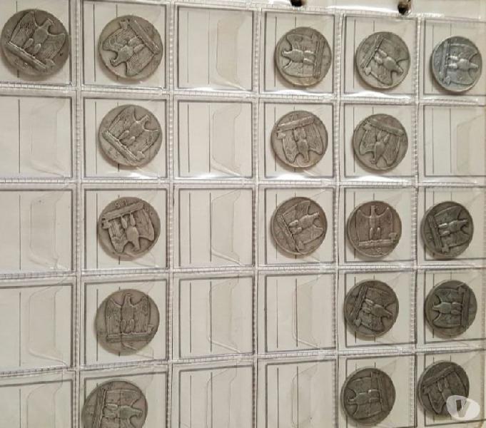 Monete antiche e francobolli vari