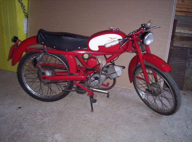 Moto guzzi nuovo cardellino lusso 73 1959