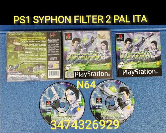 Ps1 syphon filter 2 pal ita