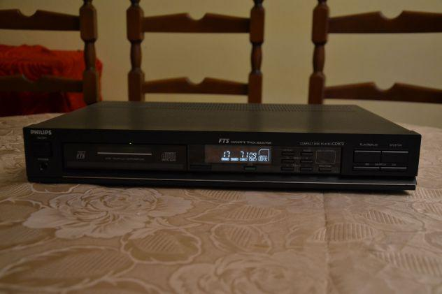 Philips cd670 lettore cd compact disc player
