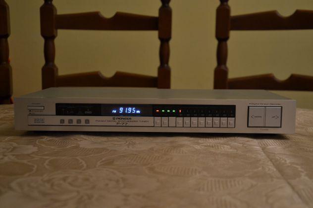 Pioneer f-77 sintonizzatore tuner digitale fm