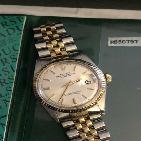 Rolex datejust acciaio e oro 36mm originale.