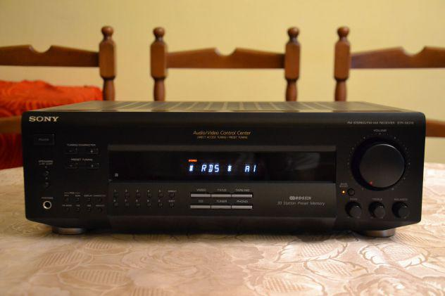 Sony str-de215 sintoamplificatore stereo a/v control center