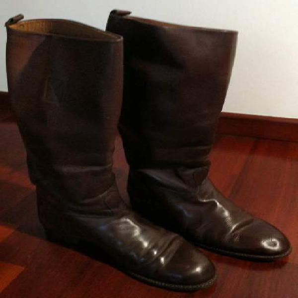 Stivali pelle marrone 【 SCONTI Febbraio 】 | Clasf