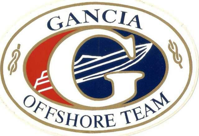 Adesivo gancia offshore team