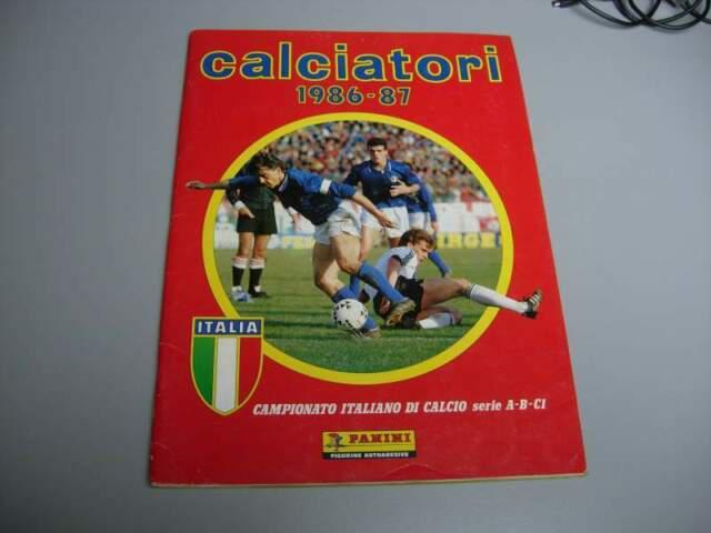 Album calciatori panini vuoto 1986/87