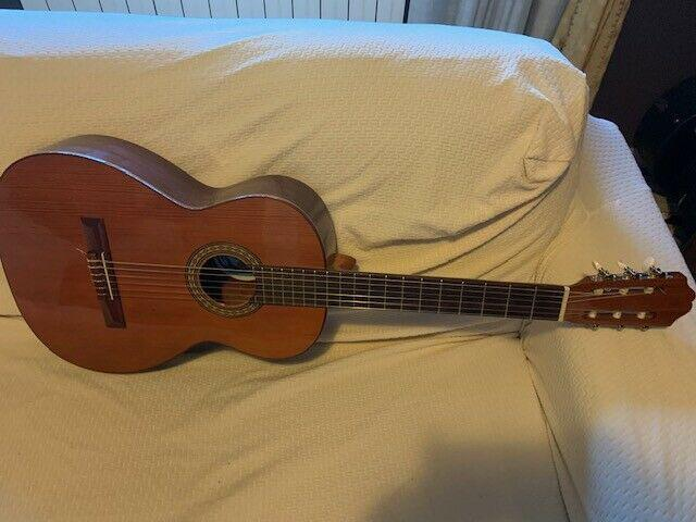Chitarra classica spagnola vicente tatay thomas.