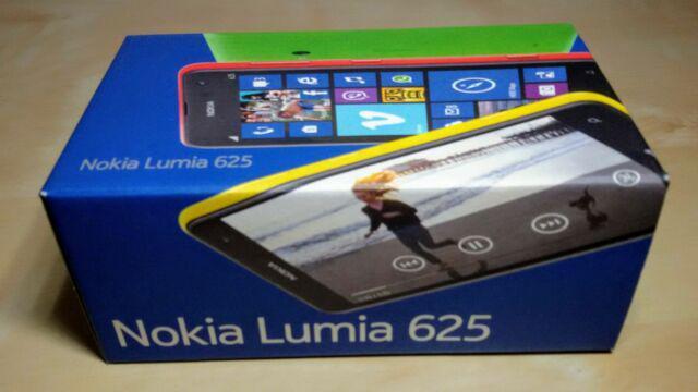 Nokia lumia 625 bianco con scatola originale e accessori