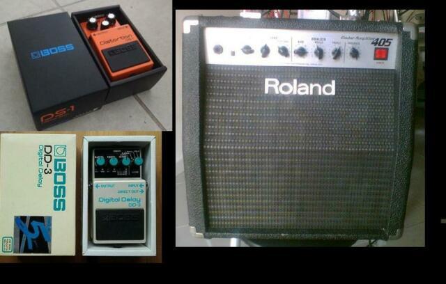 Pedali ed amplificatore