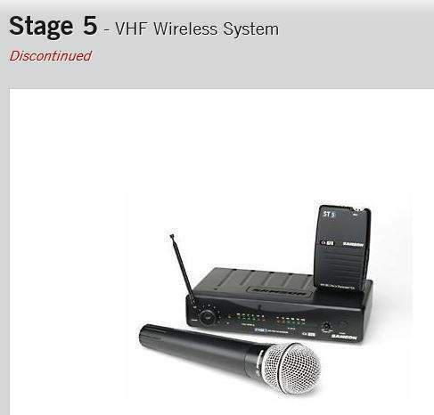 Radiomicrofono vhf