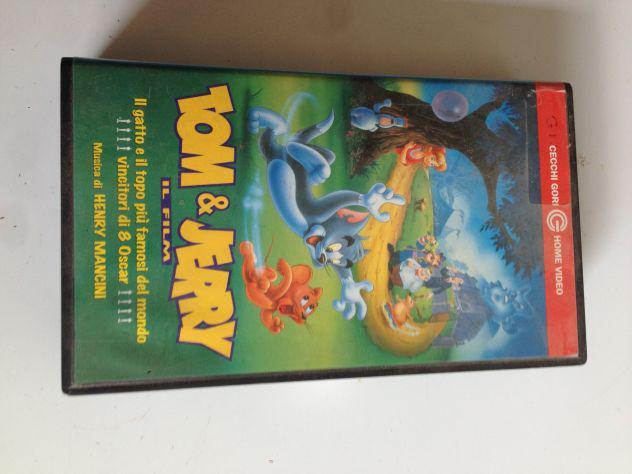 3 videocassette originali di cartoni animati