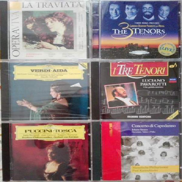 6 cd musica classica lirica